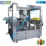 Le Keno-L218 de l'eau de boisson de jus de boisson gazeuse de boire de l'embouteillage à la hausse automatique de l'étiquetage de plafonnement de la machine de remplissage