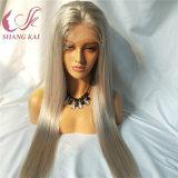 Haut de la qualité des cheveux humains Full Lace Wigs 200% Densité Transparent Lace Wigs Bébé Sèche Cheveux vierges brésilien naturel perruque de cheveux