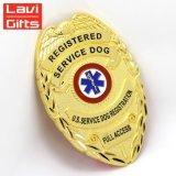Поощрения моды Логотип 3D Металлическая булавка военной полиции Армии Car Тин кнопку мягкий жесткий эмаль имя Gold пустым эмблемы эмблемы для рекламных подарков не MOQ