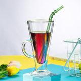 Kop van het Glas van de Espresso van de Muur van Borosilicate de Dubbele voor Thee, Espresso, Melk, de Mok van het Sap