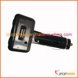 Transmetteur vidéo audio à longue portée et chargeur de voiture récepteur