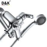 Haute qualité Pouplar longue goulotte douche/baignoire avec douche Kit robinet