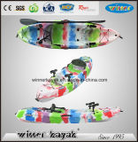 No es sencillo de plástico hinchable Paddle Barco