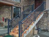Balcón de cercado de cristal de aluminio del color de bronce para su hogar