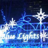 عيد ميلاد المسيح جوابة زخرفة أضواء ومض نجم عطلة ضوء