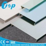 Foshan 2017 durchlöcherte verschobene c-Form-lineare Decke für Einkaufszentrum