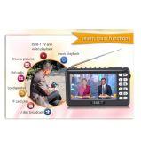 4.3Inch ISDB-T в полной мере Seg Mobile Mini портативный телевизор, поддержка всех диапазонов FM, внешняя антенна, микрофон и карта памяти SD, телепередачи в прямом эфире в любое время в любом месте