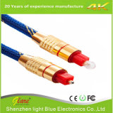 Digital Audio Quartz Glass Optical Fiber Toslink Cable
