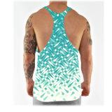 Magliette giro collo su ordinazione del Mens di misura asciutta dello Spandex del poliestere 12% del commercio all'ingrosso 88%