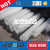 2 de gelo toneladas de fabricante do bloco com sistema refrigerando de água de sal