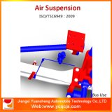 Sistema de suspensão de ar do barramento dianteiro Five Bar Link