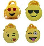 Emoji rellenó el bolso de la felpa para el regalo