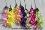 Neuer Entwurfs-Großverkauf-handgemachte künstliche Orchidee-Blumen für Dekor