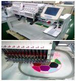 Wonyo 2 Kopf computergesteuerte industrielle Handelsstickerei-Maschine