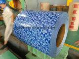 Hojas acanaladas revestidas del material para techos del color de PPGI