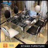 レストランの家具のダイニングテーブルの一定の大理石の食卓