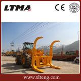 중국 로그 충전기를 가진 15 톤 로그 로더 기계