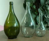 750 ml Verde Antiguo Frasco de vidrio de vino de Borgoña