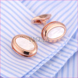 Brassards haute qualité VAGULA Sea Shell Liens brassard mère Pearl Shirt Boutons de manchette 52306