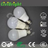 Tradizionale bianco di Natual una lampadina di figura 60mm 12W E27 LED