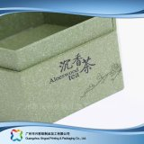 木またはボール紙のペーパーパッキングギフトか茶ボックス(xc-hbt-003)