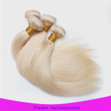 A máquina loura européia do cabelo humano de Remy da cor fêz a trama