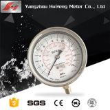Medidor de pressão do manômetro do óleo de ar Mini Medidor de Pressão para a autoclave