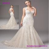 Schöne nach Maß geschwollene Nixe-China-Eilhochzeits-Kleid-Hochzeits-Kleid