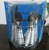 Plastiktischbesteck des griff-16PCS eingestellt mit Belüftung-Paket