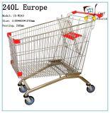 Carro de la compra del estilo de 240L Europa