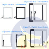 Tablet Touch Screen Digitizer Glass + Adhesive para iPad 4 4 A1458 A1459 A1460 Preto e branco