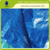 De HDPE Tarp cobrir oleados com ilhós usado para tampas agrícolas