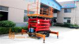 hidráulicos eléctricos de 1ton los 6m Scissor el elevador (SJY1-6)