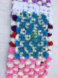 결혼식 질을%s 당 배경 로즈 Hydrangea 꽃 벽 배경막