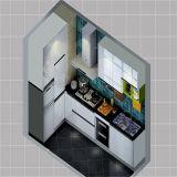 販売のための光沢度の高く安い食器棚