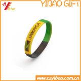 Kundenspezifischer Silikon-KlapsWristband mit Drucken-Firmenzeichen (YB-LY-WR-44)