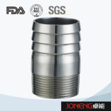 Garnitures d'adaptateur de boyau de catégorie comestible d'acier inoxydable (JN-FL3005)