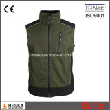 Ginásio Casual Mens Softshell Ripstop Vest