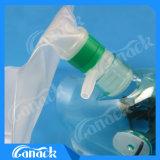 산소 부대를 가진 처분할 수 있는 산소 마스크