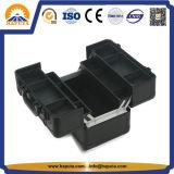 Neues Produkt-haltbarer Ablagekasten-Schönheits-Fall-Aluminiumfall mit entfernbarem Tellersegment 4 (HB-6349)