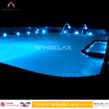 Perspex Black Acrylic Swim SPA met Massage 680 van de Jacuzzi