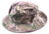 Camoの軍の漁師広い縁が付いているキャンプハンチングバケツの帽子