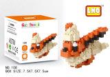 Строительные блоки серии подарка Lno здания