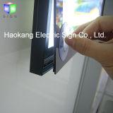 Алюминиевый магнитный плакат со светодиодной подсветкой рамы блок освещения меню ресторан быстрого питания дисплея рекламы подписать