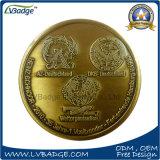 다이아몬드 가장자리를 가진 고품질 금속 동전