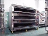 Plateaux classiques du paquet neuf du four de gaz trois pour le restaurant, approvisionnements de cuisson pour le matériel commercial de traitement au four de four de paquet d'acier inoxydable de qualité en Chine