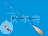 使い捨て可能な麻酔の背骨の針(鉛筆ポイント)