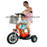 大人のための3つの車輪の電気スクーターのZappyスクーター