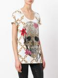 T-shirt de Chann des femmes en gros avec estampé