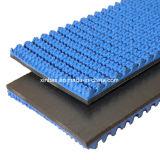 Cinta transportadora de goma de los surtidores materiales para la carpeta del cartón que transporta la cadena de producción